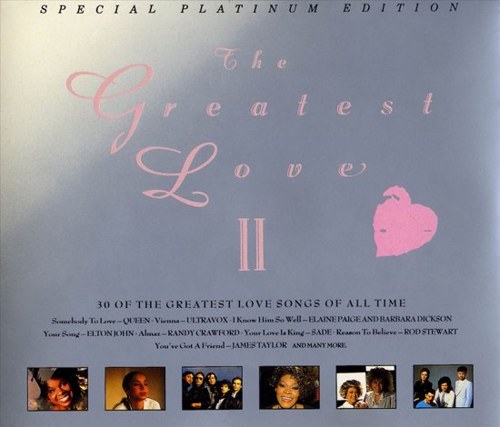 various-artists the-greatest-love-vol-ii-disc-1